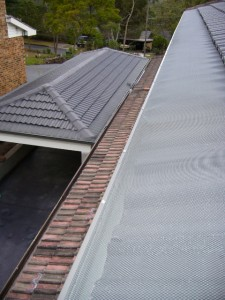 Tile Roof Gutter Protection Sydney