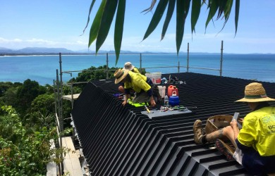 Roofing new and roofing blog skilled roofing part 2 for Balcony bar byron bay menu