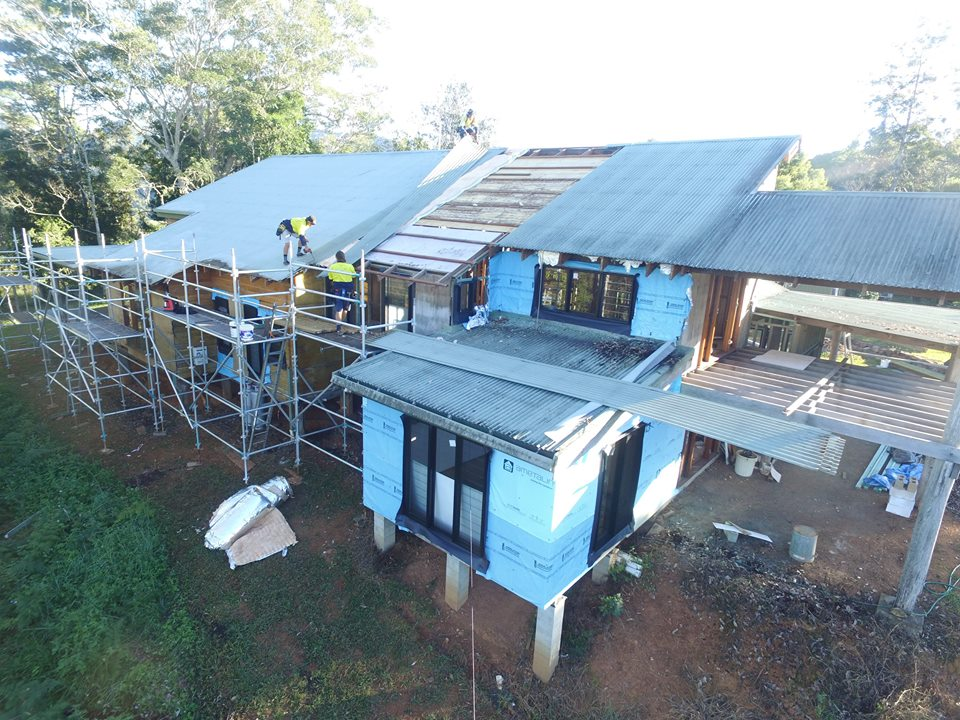 Uki Metal Roofing Project