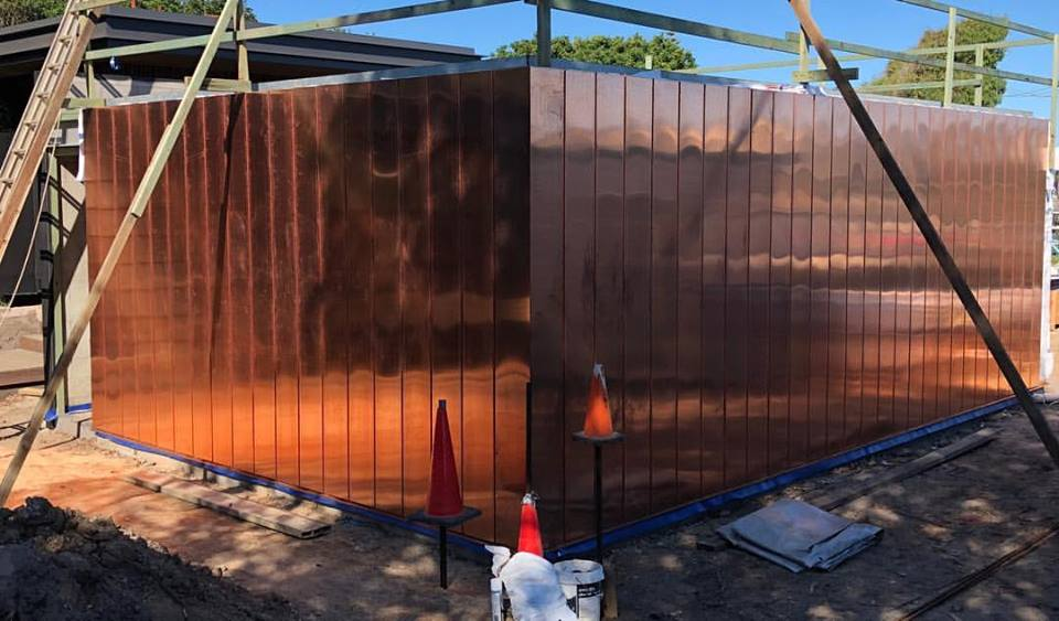 Byron Bay Copper Roofing