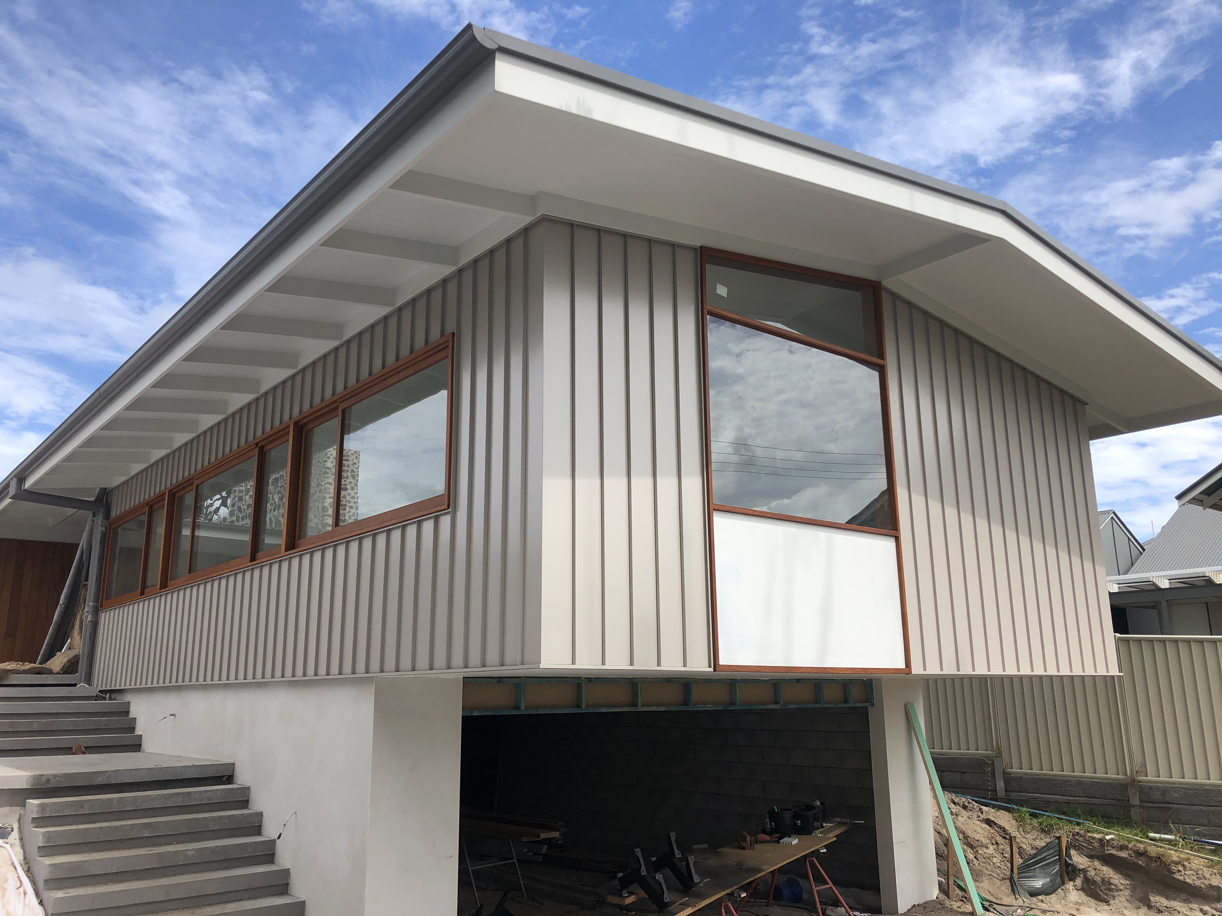 Skilled Roofing » The Metal Cladding look – Beachside at